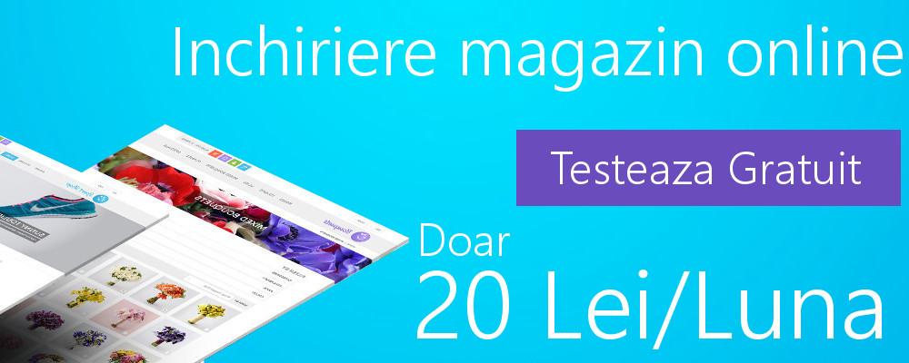 Inchiriaza Magazin Online